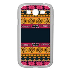 Pattern Ornaments Africa Safari Summer Graphic Samsung Galaxy Grand Duos I9082 Case (white) by Amaryn4rt