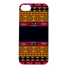 Pattern Ornaments Africa Safari Summer Graphic Apple Iphone 5s/ Se Hardshell Case by Amaryn4rt