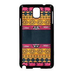 Pattern Ornaments Africa Safari Summer Graphic Samsung Galaxy Note 3 Neo Hardshell Case (black) by Amaryn4rt