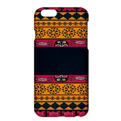 Pattern Ornaments Africa Safari Summer Graphic Apple Iphone 6 Plus/6s Plus Hardshell Case by Amaryn4rt