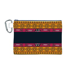 Pattern Ornaments Africa Safari Summer Graphic Canvas Cosmetic Bag (M)