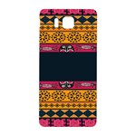 Pattern Ornaments Africa Safari Summer Graphic Samsung Galaxy Alpha Hardshell Back Case Front