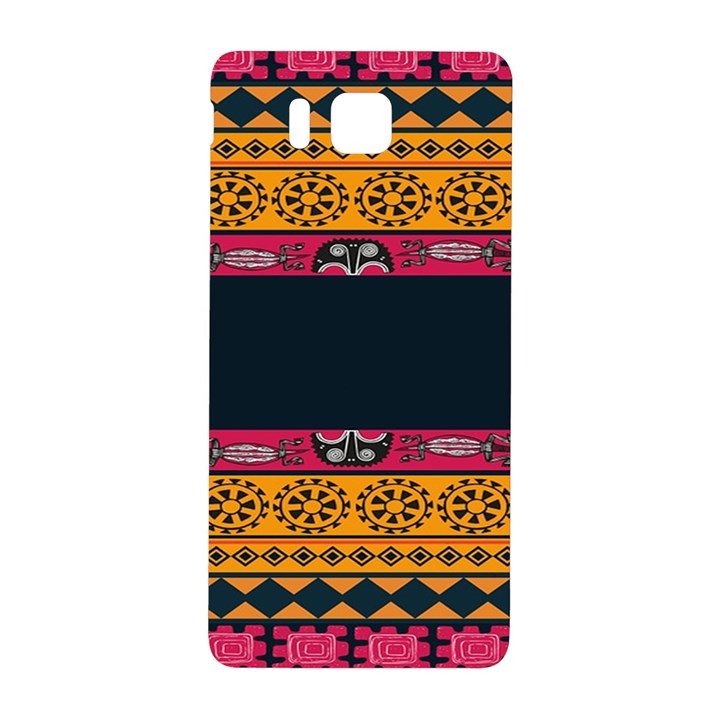 Pattern Ornaments Africa Safari Summer Graphic Samsung Galaxy Alpha Hardshell Back Case