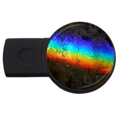 Rainbow Color Prism Colors Usb Flash Drive Round (2 Gb) by Amaryn4rt