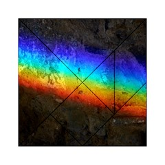 Rainbow Color Prism Colors Acrylic Tangram Puzzle (6  X 6 ) by Amaryn4rt