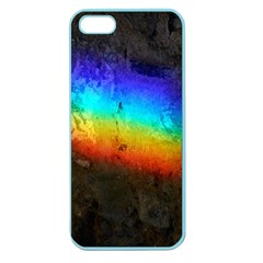 Rainbow Color Prism Colors Apple Seamless Iphone 5 Case (color) by Amaryn4rt