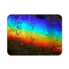 Rainbow Color Prism Colors Double Sided Flano Blanket (mini)  by Amaryn4rt