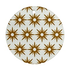 Seamless Repeating Tiling Tileable Round Ornament (two Sides) by Amaryn4rt