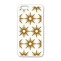 Seamless Repeating Tiling Tileable Apple Iphone 6/6s White Enamel Case by Amaryn4rt