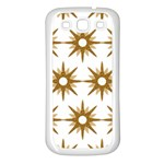 Seamless Repeating Tiling Tileable Samsung Galaxy S3 Back Case (White) Front