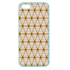 Seamless Wallpaper Background Apple Seamless Iphone 5 Case (color)