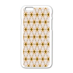 Seamless Wallpaper Background Apple Iphone 6/6s White Enamel Case by Amaryn4rt