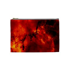 Star Clusters Rosette Nebula Star Cosmetic Bag (medium)  by Amaryn4rt