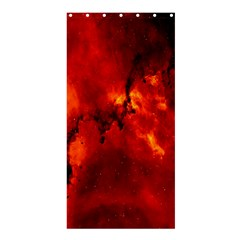Star Clusters Rosette Nebula Star Shower Curtain 36  X 72  (stall)  by Amaryn4rt