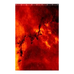 Star Clusters Rosette Nebula Star Shower Curtain 48  X 72  (small)  by Amaryn4rt