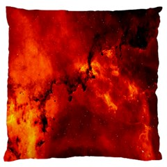 Star Clusters Rosette Nebula Star Large Cushion Case (one Side) by Amaryn4rt
