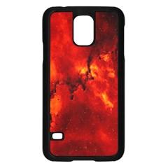Star Clusters Rosette Nebula Star Samsung Galaxy S5 Case (black) by Amaryn4rt