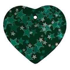 Star Seamless Tile Background Abstract Ornament (heart) by Amaryn4rt