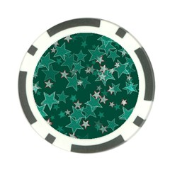 Star Seamless Tile Background Abstract Poker Chip Card Guard by Amaryn4rt