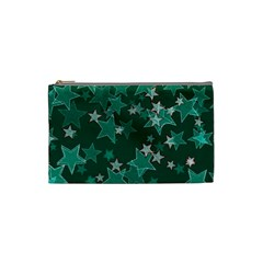 Star Seamless Tile Background Abstract Cosmetic Bag (Small)  by Amaryn4rt