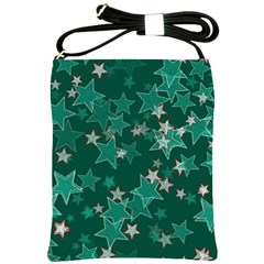 Star Seamless Tile Background Abstract Shoulder Sling Bags by Amaryn4rt