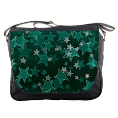 Star Seamless Tile Background Abstract Messenger Bags
