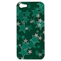 Star Seamless Tile Background Abstract Apple Iphone 5 Hardshell Case