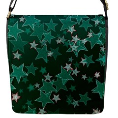 Star Seamless Tile Background Abstract Flap Messenger Bag (s)