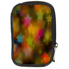 Star Background Texture Pattern Compact Camera Cases by Amaryn4rt