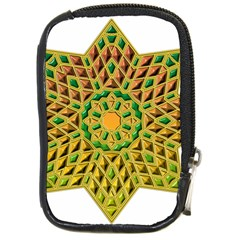 Star Pattern Tile Background Image Compact Camera Cases by Amaryn4rt