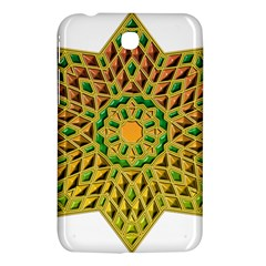 Star Pattern Tile Background Image Samsung Galaxy Tab 3 (7 ) P3200 Hardshell Case  by Amaryn4rt