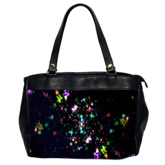 Star Structure Many Repetition Office Handbags (2 Sides)  by Amaryn4rt