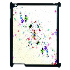 Star Structure Many Repetition Apple Ipad 2 Case (black) by Amaryn4rt