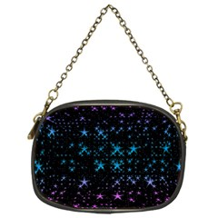 Stars Pattern Seamless Design Chain Purses (one Side)  by Amaryn4rt
