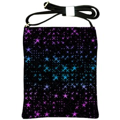 Stars Pattern Seamless Design Shoulder Sling Bags by Amaryn4rt