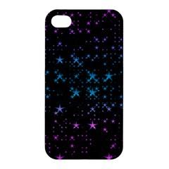 Stars Pattern Seamless Design Apple Iphone 4/4s Hardshell Case by Amaryn4rt
