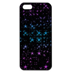 Stars Pattern Seamless Design Apple Iphone 5 Seamless Case (black) by Amaryn4rt
