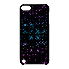 Stars Pattern Seamless Design Apple Ipod Touch 5 Hardshell Case With Stand by Amaryn4rt