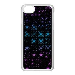 Stars Pattern Seamless Design Apple Iphone 7 Seamless Case (white) by Amaryn4rt