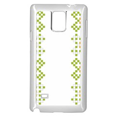 Vintage Pattern Background  Vector Seamless Samsung Galaxy Note 4 Case (white) by Amaryn4rt