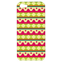 Tribal Pattern Background Apple Iphone 5 Hardshell Case by Amaryn4rt