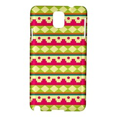 Tribal Pattern Background Samsung Galaxy Note 3 N9005 Hardshell Case