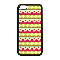 Tribal Pattern Background Apple Iphone 5c Seamless Case (black) by Amaryn4rt