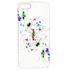 Star Structure Many Repetition Apple Iphone 5 Hardshell Case With Stand by Amaryn4rt