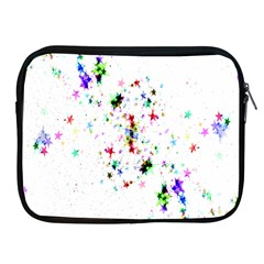 Star Structure Many Repetition Apple Ipad 2/3/4 Zipper Cases by Amaryn4rt