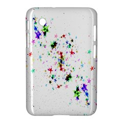 Star Structure Many Repetition Samsung Galaxy Tab 2 (7 ) P3100 Hardshell Case  by Amaryn4rt