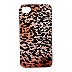 Tiger Motif Animal Apple Iphone 4/4s Hardshell Case With Stand by Amaryn4rt