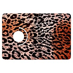 Tiger Motif Animal Kindle Fire Hdx Flip 360 Case by Amaryn4rt