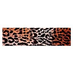 Tiger Motif Animal Satin Scarf (oblong) by Amaryn4rt