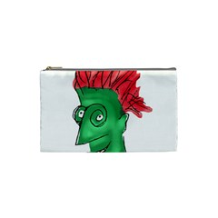 Crazy Man Drawing  Cosmetic Bag (small)